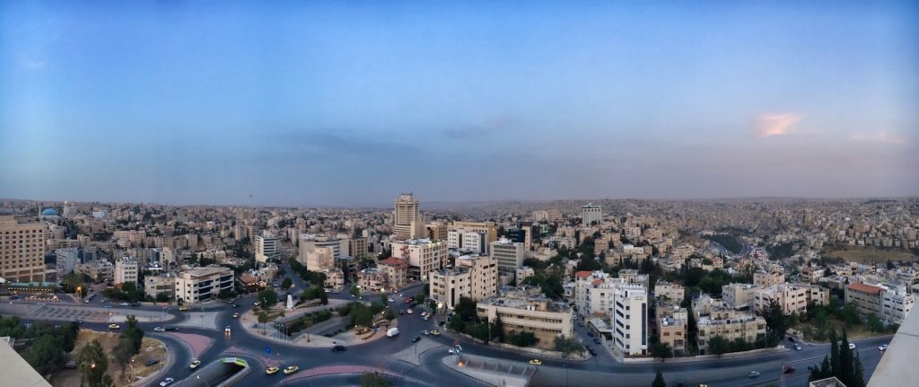 10 Days in Jordan - Amman View