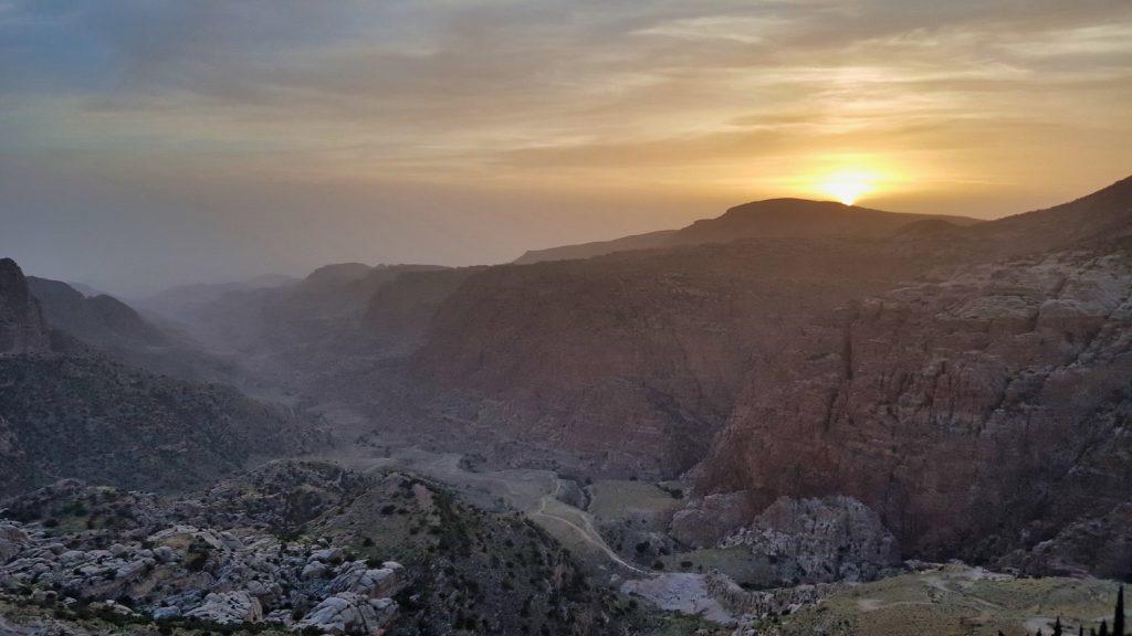 10 Days in Jordan - Dana Sunset