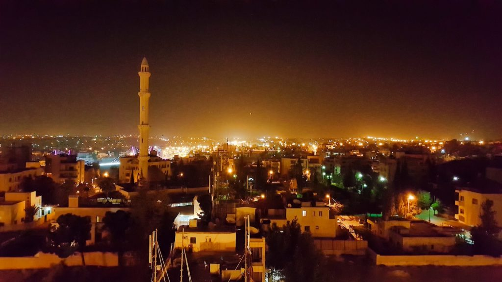 10 Days in Jordan - Mosque at Night