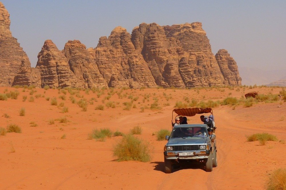 Jeep Tours in Wadi Rum