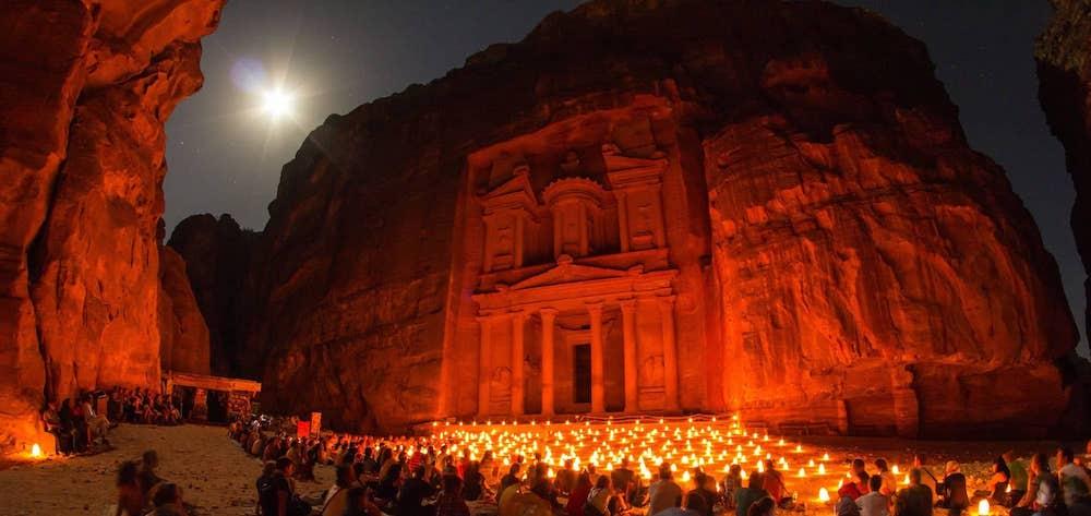 Stargazing in Jordan - Petry by Night