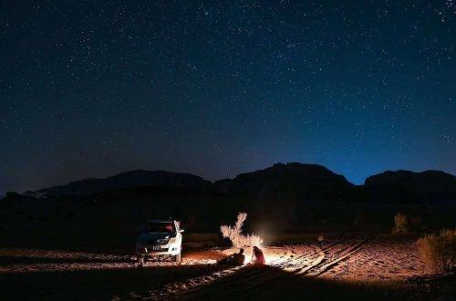 Stargazing in Jordan Hero