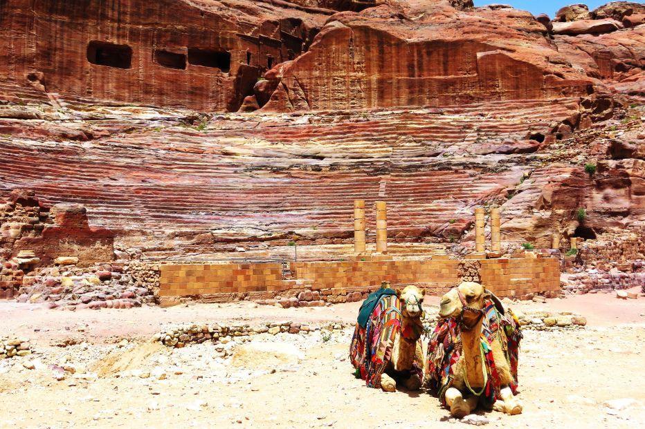 Wadi Rum from Petra Hero