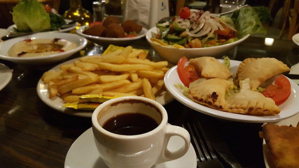 Jordan Bucket List - Jordanian Food Spread