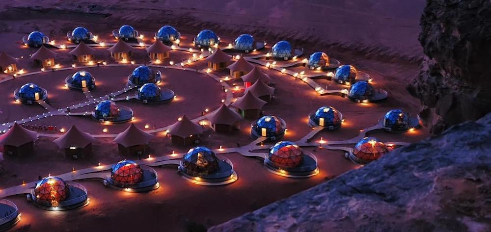 Best Wadi Rum Camps - Memories Aicha Luxury Camp