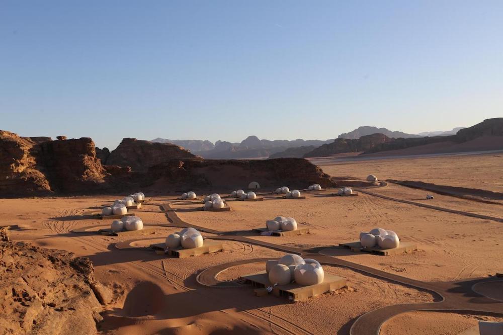 Best Wadi Rum Camps - Wadi Rum Bubble Luxotel