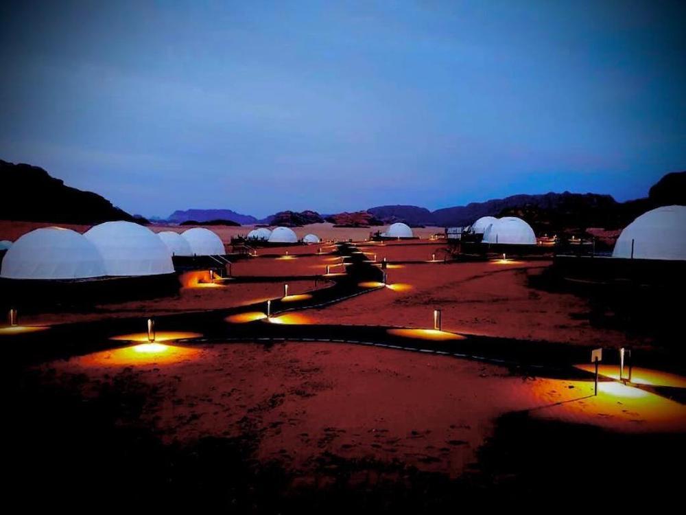 Best Wadi Rum Camps - Wadi Rum UFO Luxotel